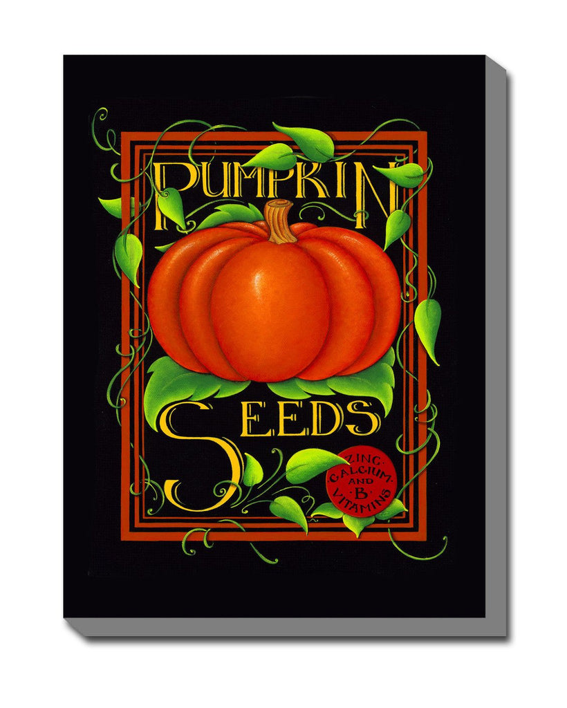Pumpkin Seeds Outdoor Canvas Art