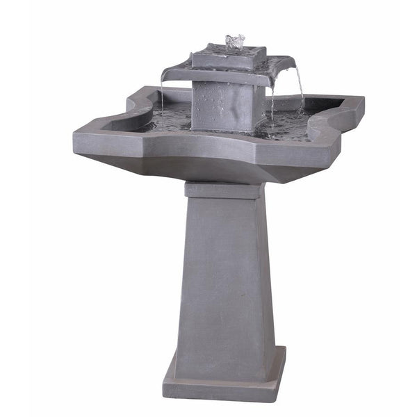 Quad Outdoor Floor Fountain - Soothing Company