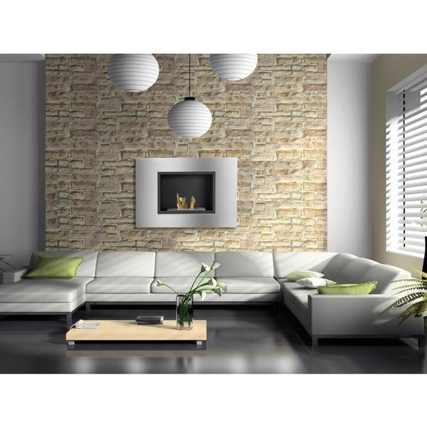 Ignis Quadra Recessed Bio Ethanol Fireplace - Soothing Company