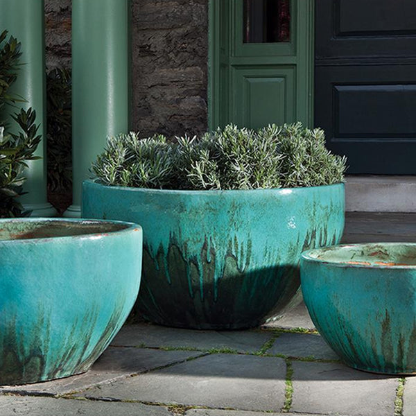 Quinta Planter Set of 3 in Falling Jade - Soothing Company
