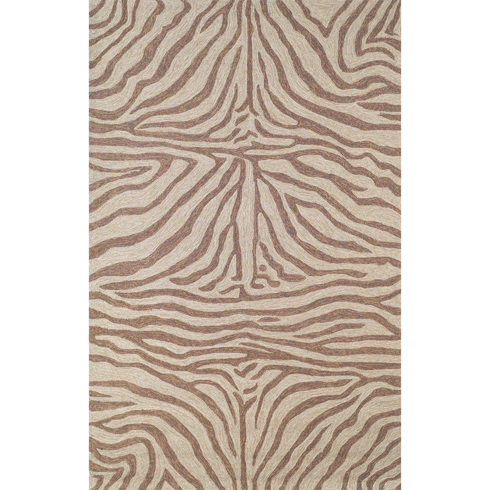 Liora Manne Ravella Zebra Brown Area Rug - Soothing Company