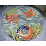 Liora Manne Ravella Tropical Fish Ocean Area Rug - Soothing Company