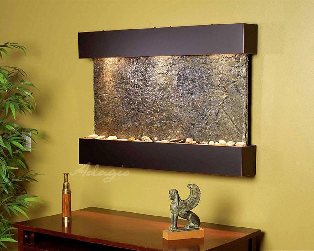 Reflection Creek Wall Water Fountain – Soothing Company