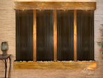 Regal Falls:  Bronze Mirror and Rustic Copper Trim with Squared Corners