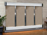 Regal Falls:  Bronze Mirror and Stainless Steel Trim with Rounded Corners