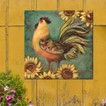 Rise and Shine Outdoor Canvas Art - Soothing Company