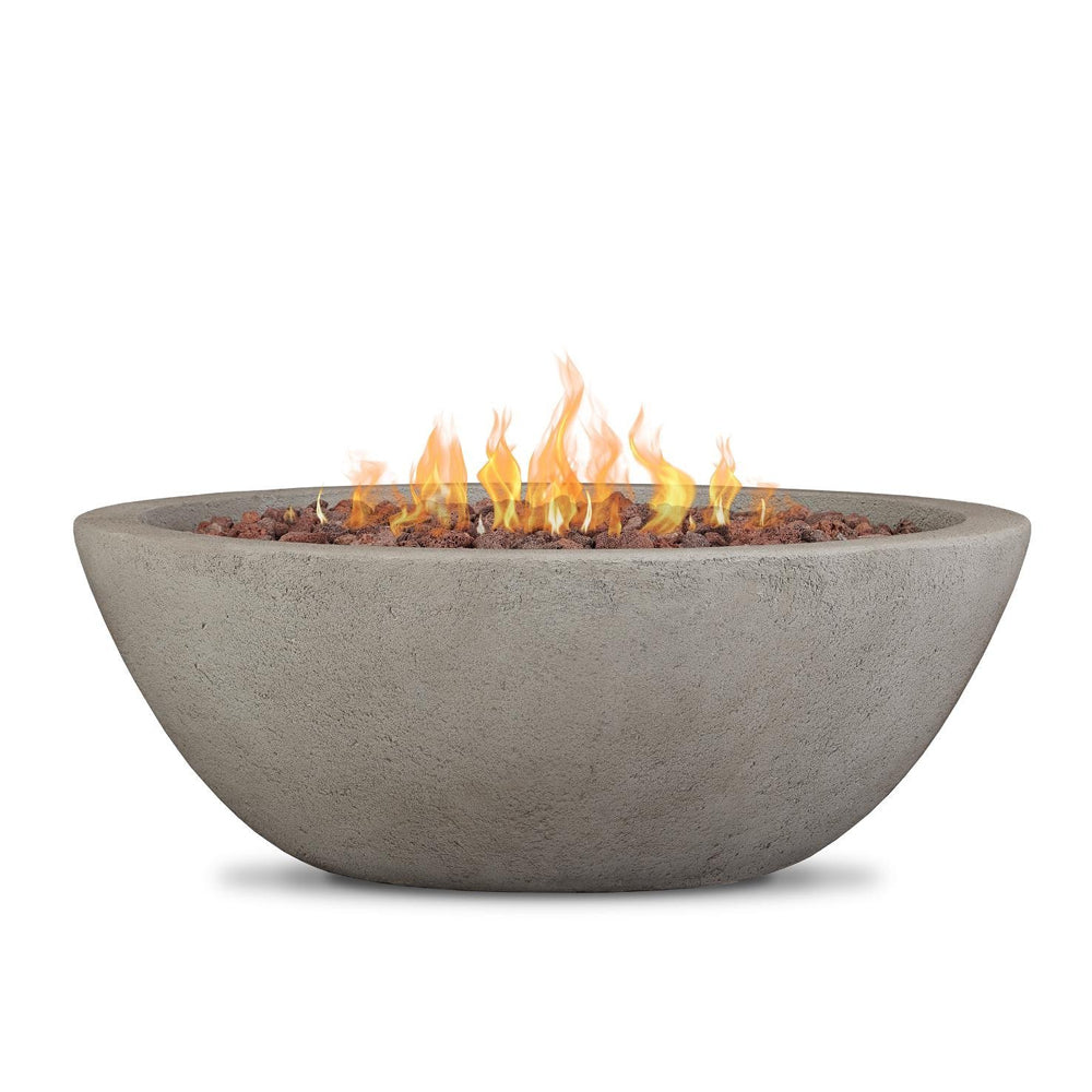 Riverside Gas Fire Bowl with NG Conversion Kit in Glacier Gray - Soothing Company
