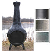 The Blue Rooster Rose Chiminea - Soothing Company