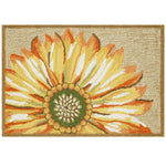 Liora Manne Frontporch Sunflower Yellow Area Rug - Soothing Company
