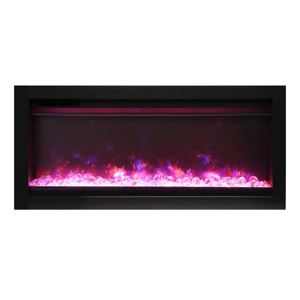 Amantii 34″ B Symmetry Electric Fireplace - Soothing Company