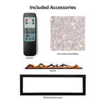 Included Accessories for Amantii Symmetry Electric Fireplace - Soothing Company