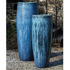 Sabine Short Planter in Blue Pearl - Soothing Company