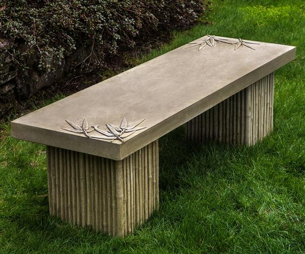 Sagano Outdoor Stone Bench - Soothing Company