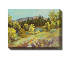 Sage Thoughts Outdoor Canvas Art