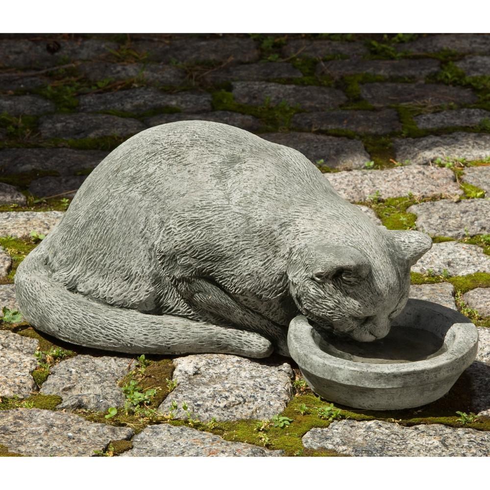 Samantha Cast Stone Garden Statue - Soothing Company