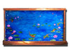 Six Foot Wide Horizontal Giverny Wall Fountain - Soothing Company