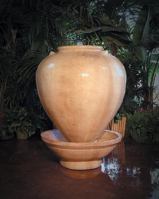 Small Vase Outdoor Fountain - Soothing Walls