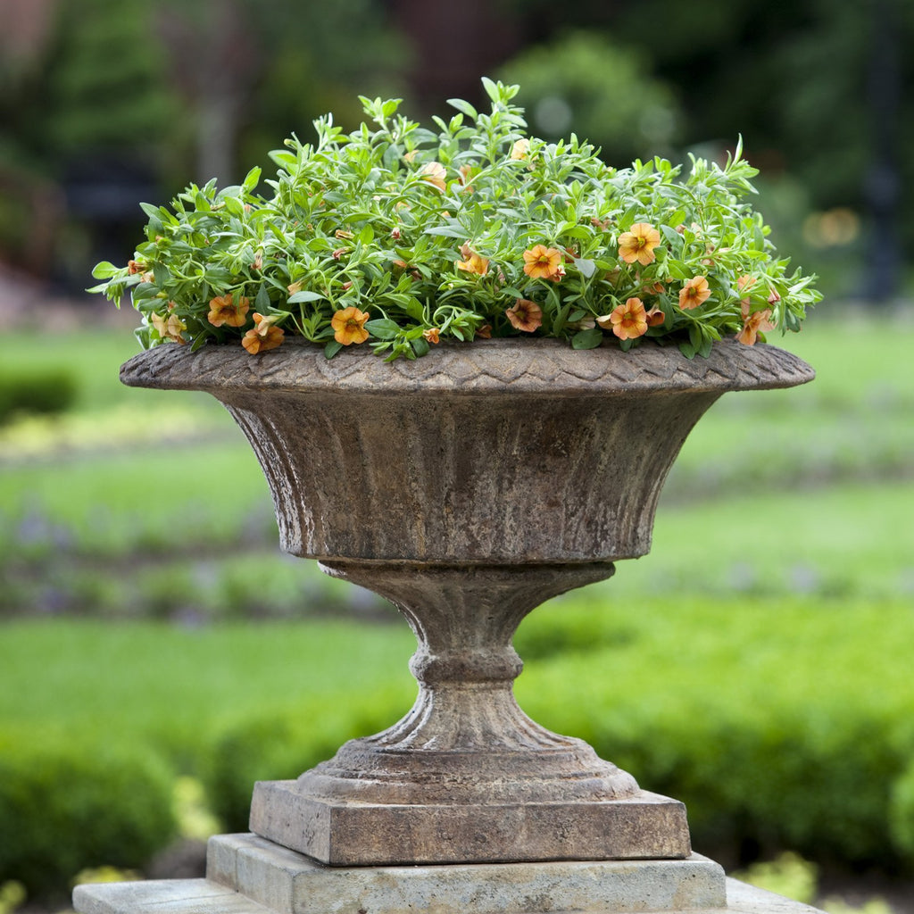 Smithsonian Fluted Valentine Urn Garden Planter - Soothing Company