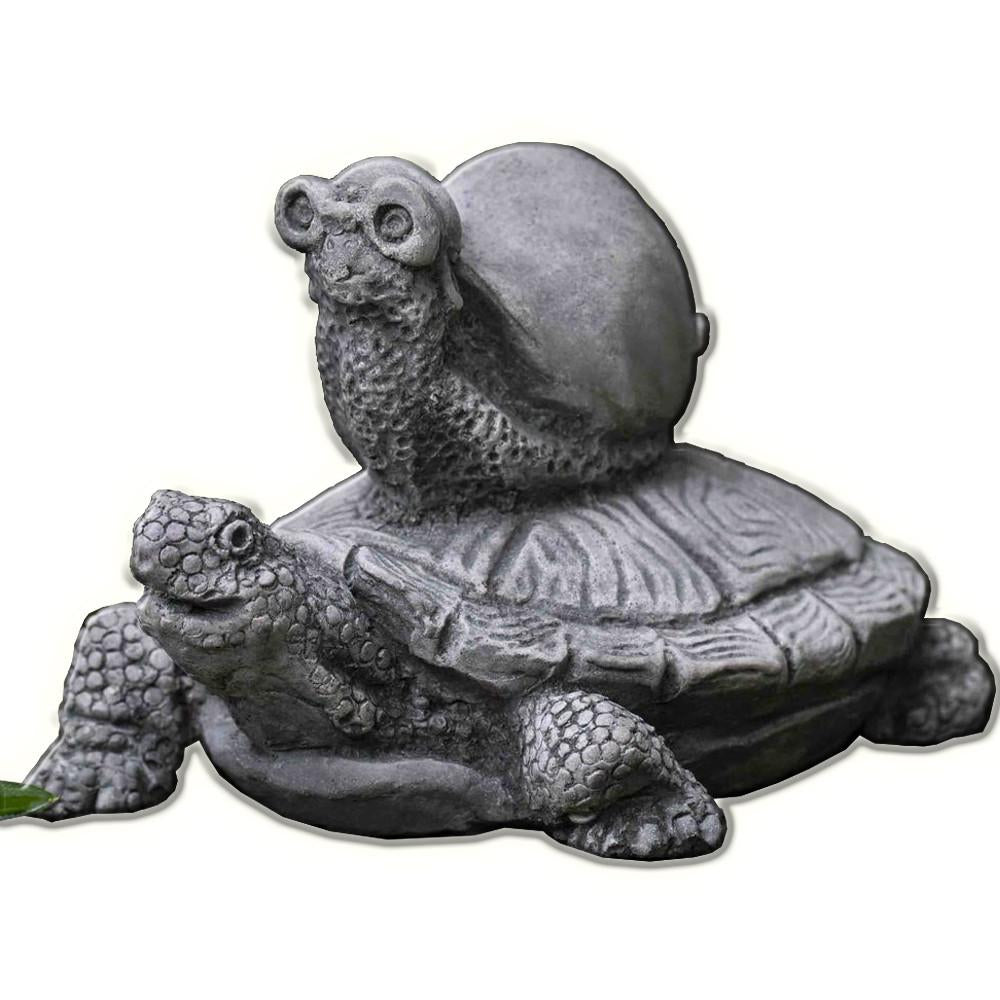 Snail Express Cast Stone Garden Statue - Soothing Company