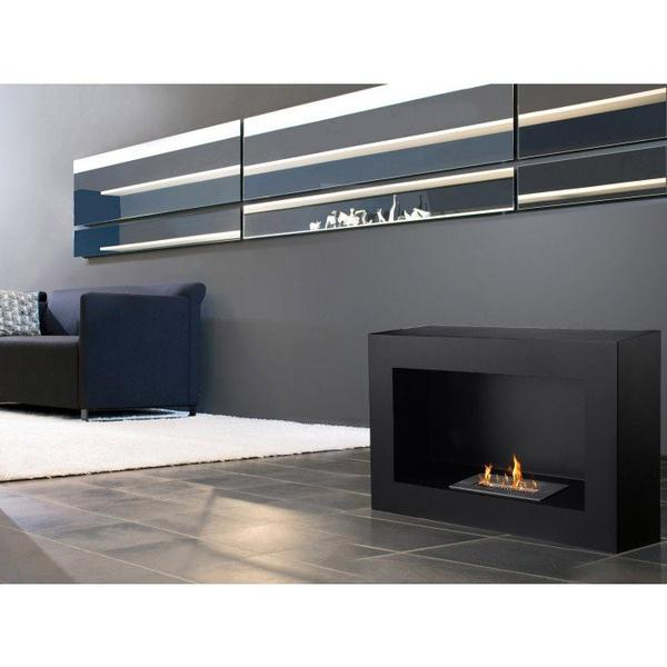 Ignis Spectrum Freestanding Bio Ethanol Fireplace - Soothing Company