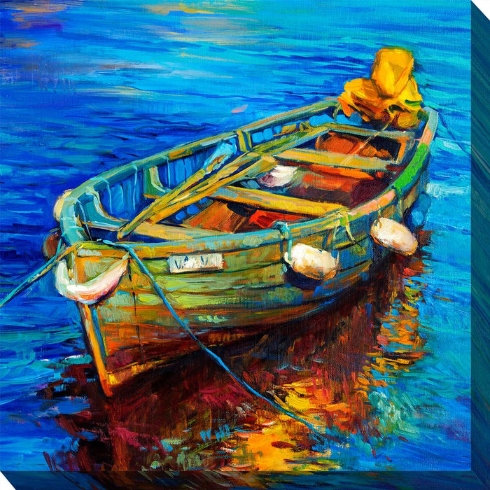 Spiros Skiff Outdoor Canvas Art - Soothing Company