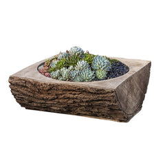 Split Log Garden Planter - Soothing Company