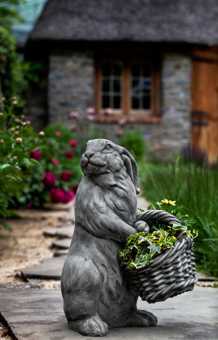 Spring Hare Garden Statue - Soothing Company