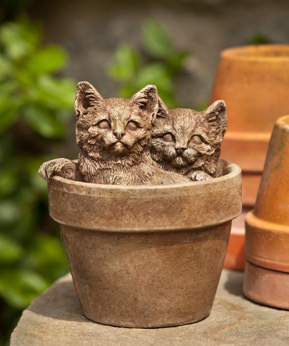 Sprouts Cast Stone Garden Statue - Soothing Company