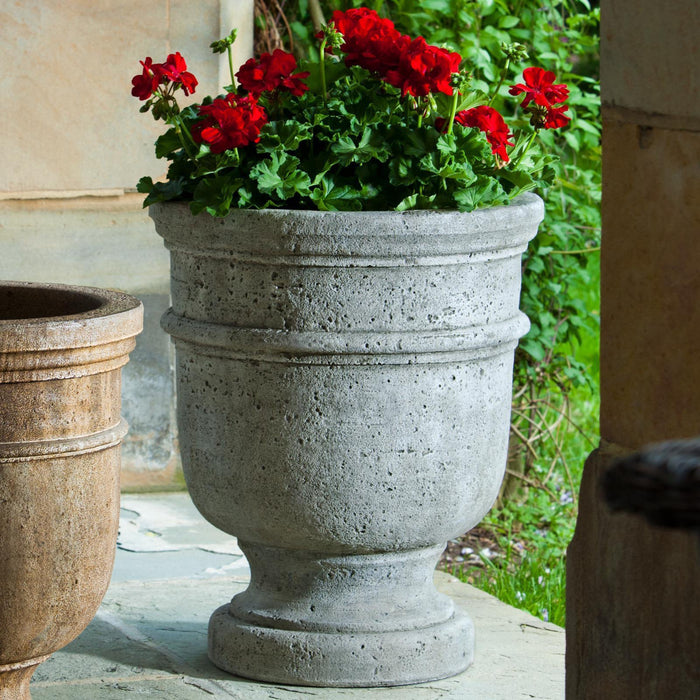 St. Remy Urn Garden Planter in Alpine Stone (AS) - Soothing Company