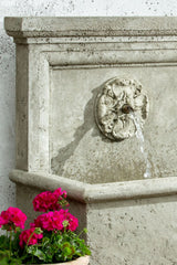 St. Aubin Wall Outdoor Water Fountain - Soothing Company