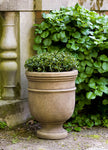 St. Remy Urn Small Garden Planter in  Aged Limestone (AL) - Soothing Company