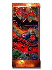 Stained Galaxy I Wall Fountain - Soothing Company