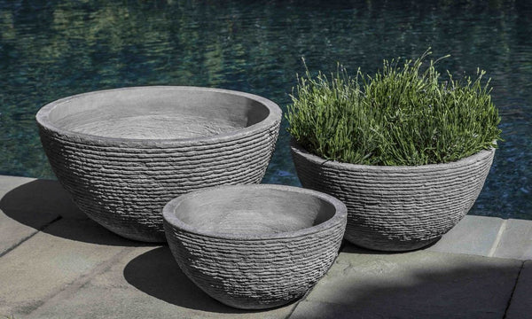 Stone Ledge Bowl - Set of 3 - Soothing Company