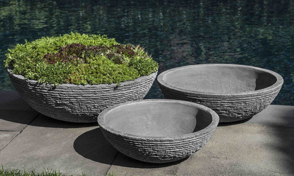 Stone Ledge Zen Bowl - Set of 3 - Soothing Company