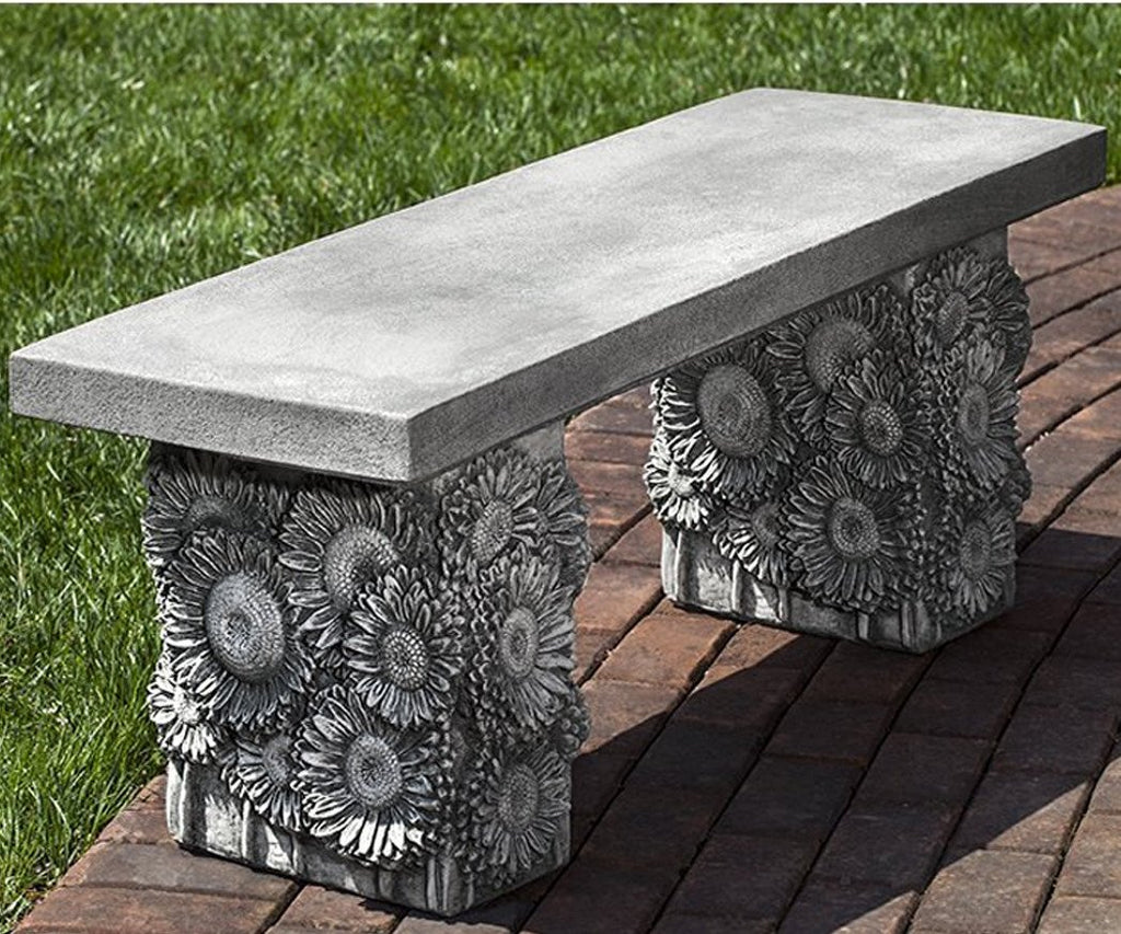 Sunflower Garden Bench - Soothing Company