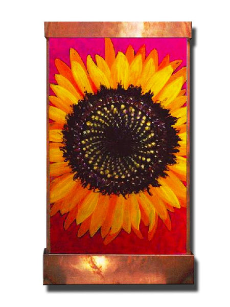 Sunflower Wall Fountain - Soothing Company