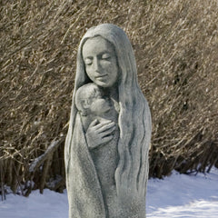 Sweet Dreams Cast Stone Garden Statue - Soothing Company