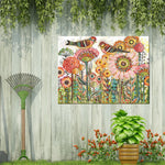 Sweet Tweets Outdoor Canvas Art - Soothing Company