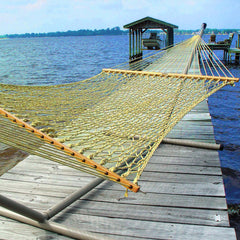 Large Original DuraCord Rope Hammock - Tan - Soothing Company