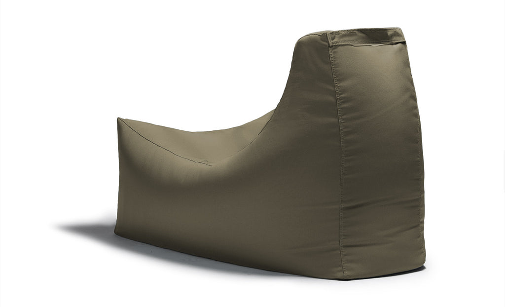 Juniper Outdoor Bean Bag Chair Taupe - Soothing Company