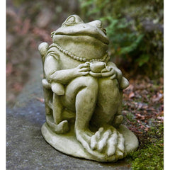 Tea Cast Stone Garden Statue - Soothing Company