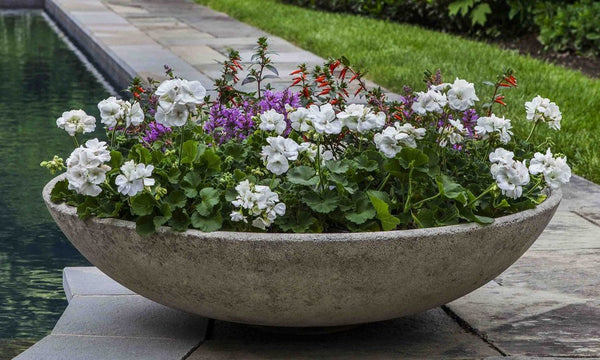 Textured Zen Bowl Garden Planter - Soothing Company