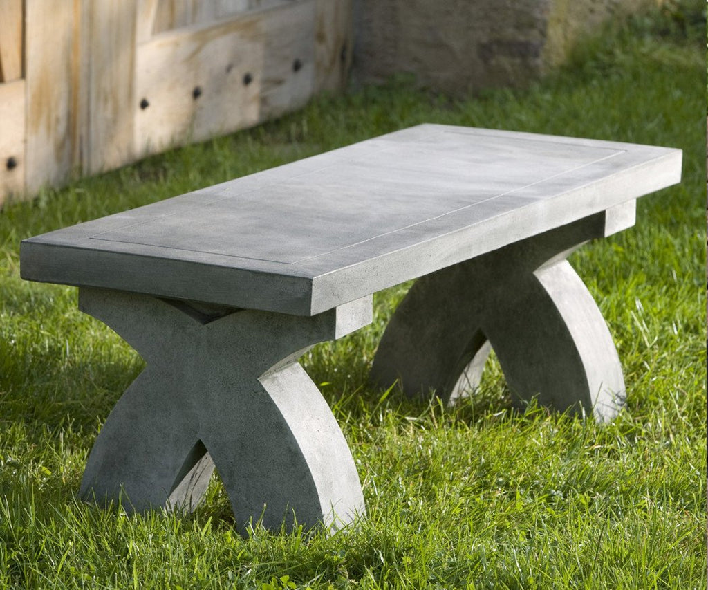 The X Garden Stone Bench - Soothing Company