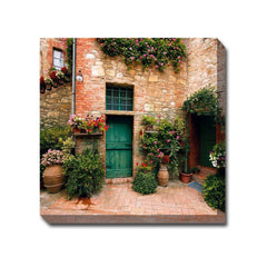 Toscana Courtyard Outdoor Canvas Art