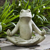 Totally Zen Too Cast Stone Garden Statue - Soothing Company