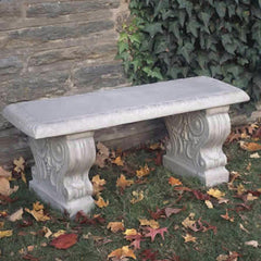 Traditional Straight Garden Bench - Soothing Company