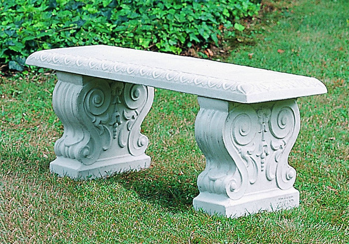 Traditional Straight Garden Bench