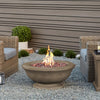 Treviso Round Propane Fire Bowl with NG Conversion Kit - Soothing Company