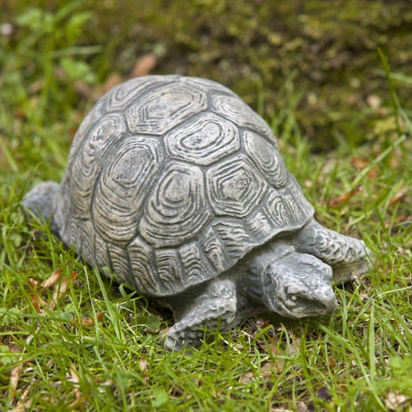 Turtle Small Cast Stone Garden Statue - Soothing Company
