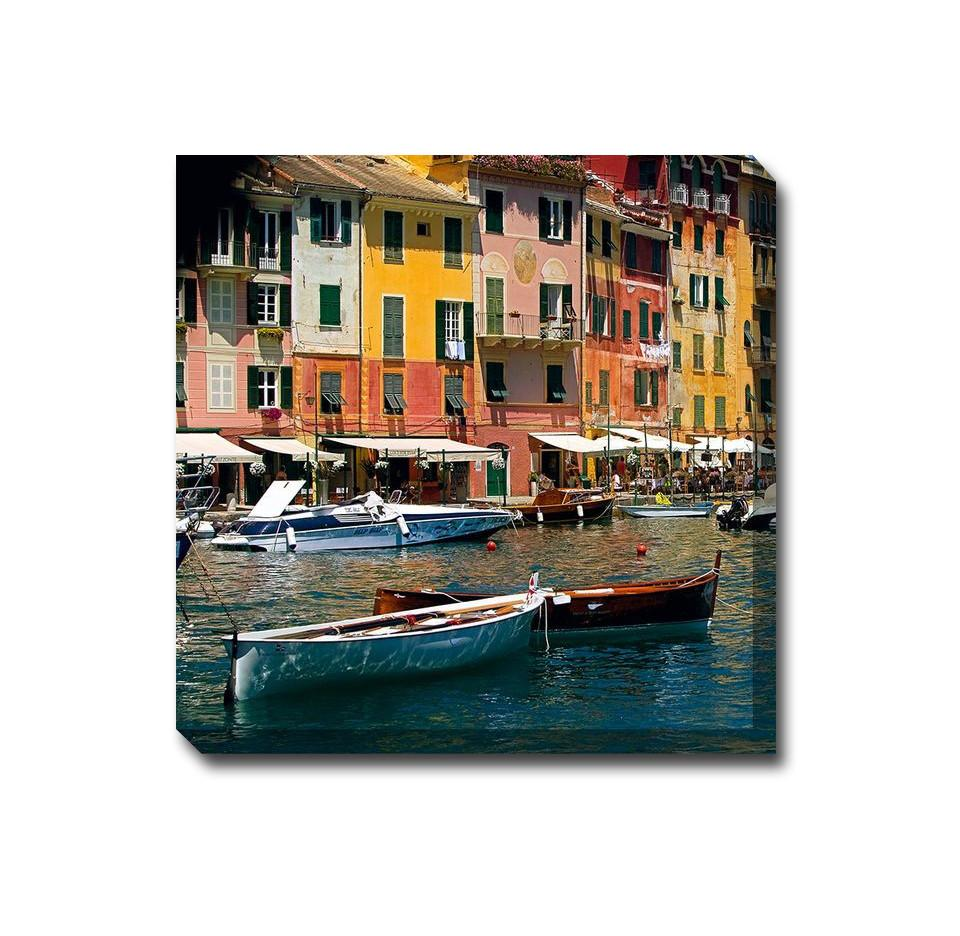Two Dories Outdoor Canvas Art